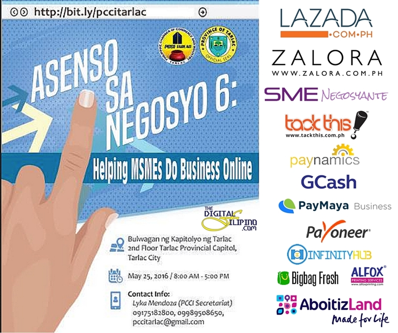 "Call for Participants: PCCI- Tarlac ""Asenso sa Negosyo 6"""