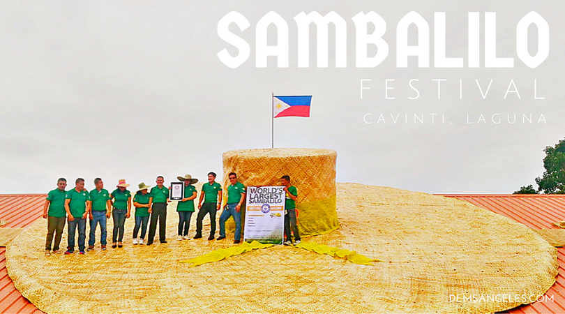 Cavinti, Laguna is home to the world's largest Sambalilo