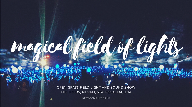 Nuvali Magical Field of Lights 2017