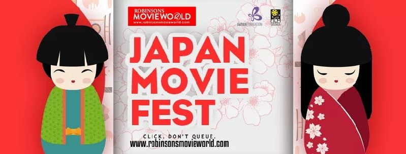 Japan Movie Fest at Robinsons Movieworld