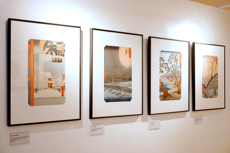 Ukiyo-e exhibit at Shangri-La Plaza July 2019