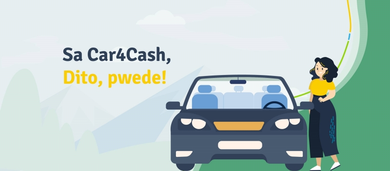 A convenient loan product lets you borrow up to Php2M using your OR/CR