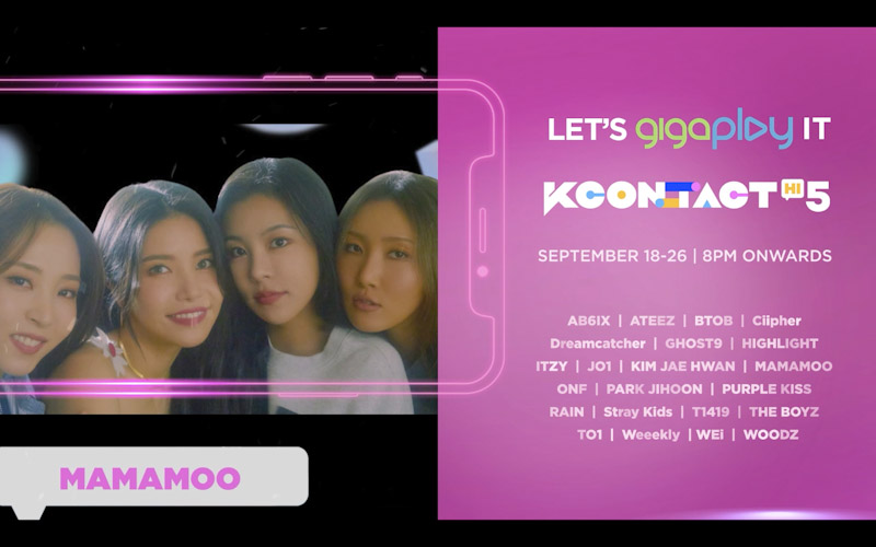Watch MAMAMOO, ITZY, Stray Kids LIVE for FREE, exclusively on Smart GigaPlay App