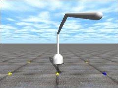 3DOF Robot Arm Simulator, Open Dynamics Engine