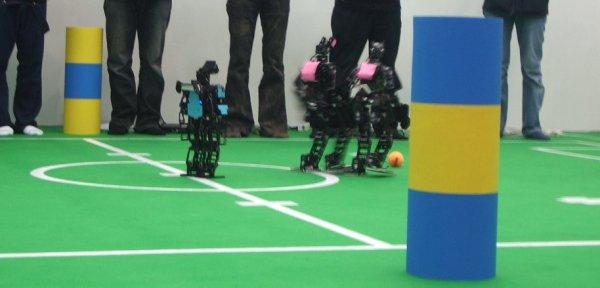 Team OSAKA VS CIT Brain, RoboCup Japan Open 2008 Numazu