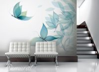 Gaudy as a butterfly - Animals wallpaper mural - Photo ...