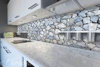 Rock-paper-scissors - Kitchen wallpaper mural - Photo ...