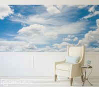 A walk in the clouds - Sky wallpaper mural - Photo ...