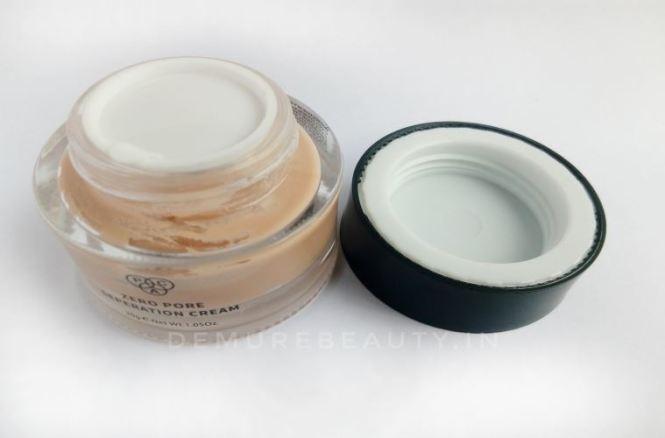 pac zero pore separation cream