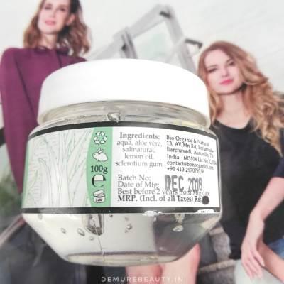 bon organics aloe vera gel review