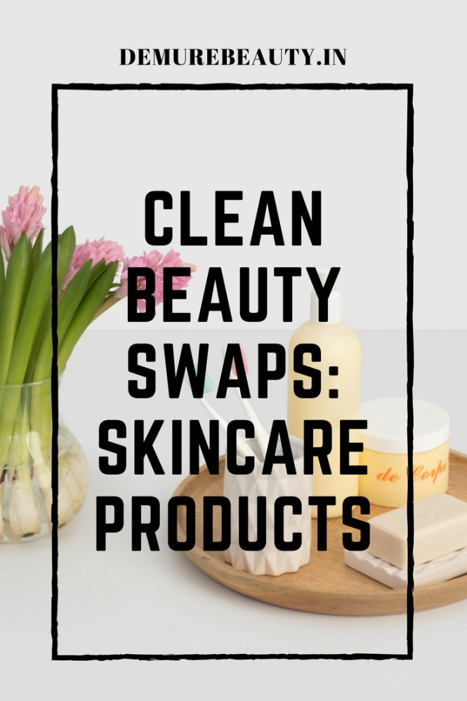 Clean beauty alternatives for skincare products