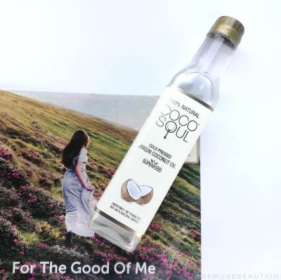 cocosoul coconut oil for oiling hair