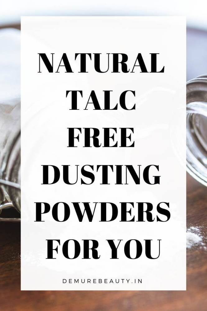 natural talc free dusting powder in india