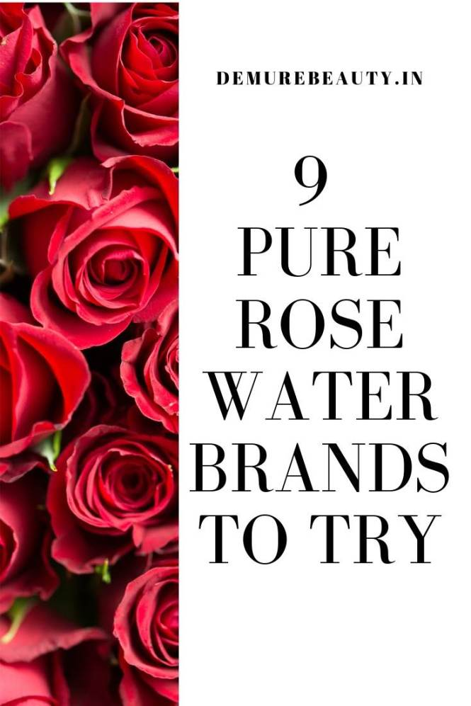 pure rose water , grren beauty product. Skincare