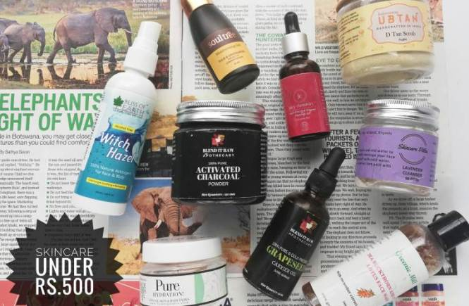 affordable oil skincare routine india under rs.500