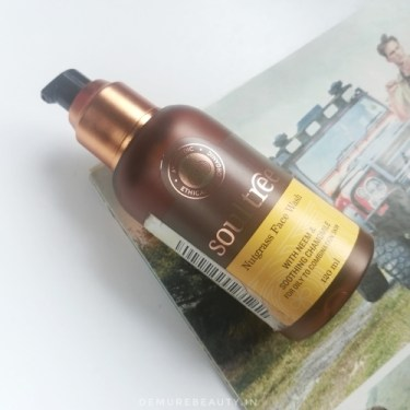 soultree nutgrass natural facewash for oily skin in india