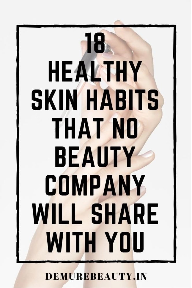 healthy skin habits and natural beauty tips for glowing skin