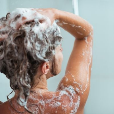 get soft hair with shampoo