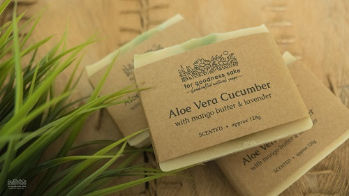 handmade cold-pressed soaps