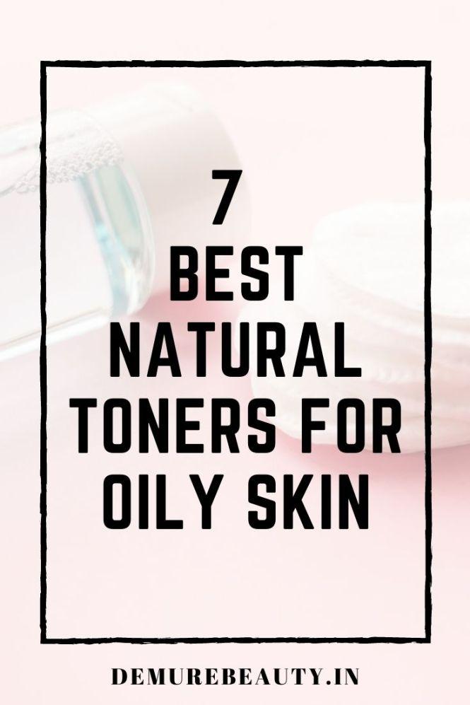 best toners oily skin india
