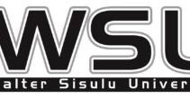 Walter Sisulu University Courses Offered