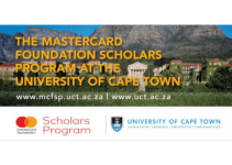 Mastercard Foundation Scholarship Opportunity at UCT 2021