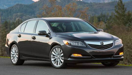 acura rlx - Cars of 2014