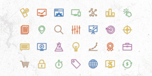 Free SEO Themed Vector Icons 5
