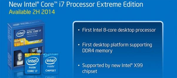 Intel Confirms Haswell-E, 8-core Extreme Edition with DDR4 Memory   PC Perspective 1