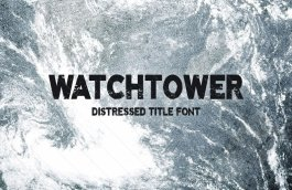 Distressed-Title-Font