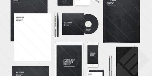 Free: Stationery Branding Mock-Up Pack 2