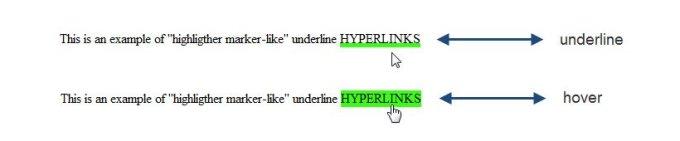 highlighter-underline