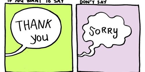 "[Gallery] Say ""THANK YOU"" instead of ""SORRY"" 14"