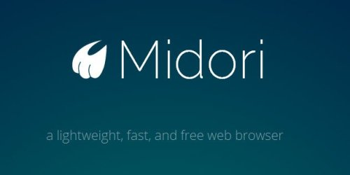 Midori browser - now available for Windows 1