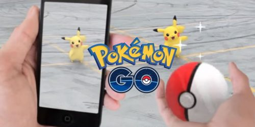 pokemon go 500x250 - Pokémon GO - A mobile game that has become a global phenomenon