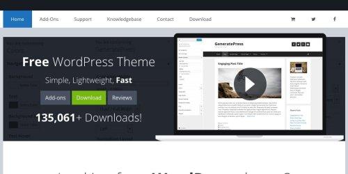 GeneratePress - Lightweight, Responsive WordPress Theme 11