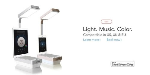 WySky: The Apple-Integrated Music Lamp by WY SKY 3
