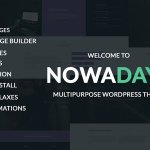 NowaDays – Multipurpose, One or Multipage WordPress Theme