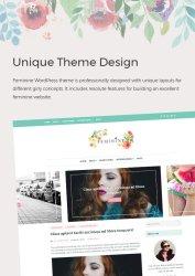 unique theme design - Feminine WordPress Theme For Fashion, Lifestyle, Travel and Beauty Bloggers