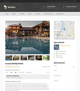 Build real estate listings business website with WordPress plugin 7