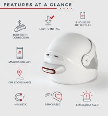 %name Convert Any Helmet Into A Smart Helmet by Cosmo Connected