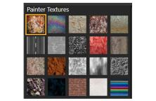 textures - Corel Painter 2019 -Digital Art and Painting Software