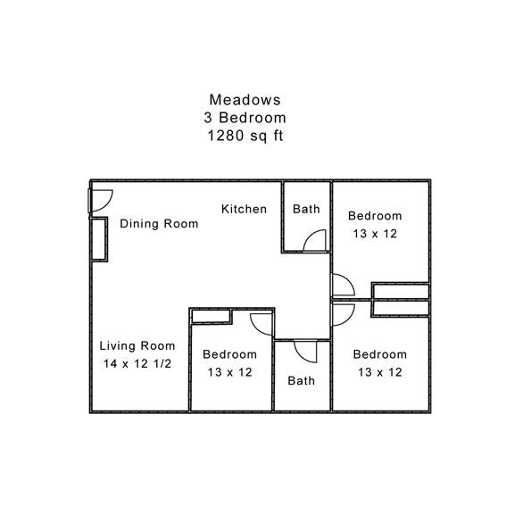 Meadows 3 Bedroom