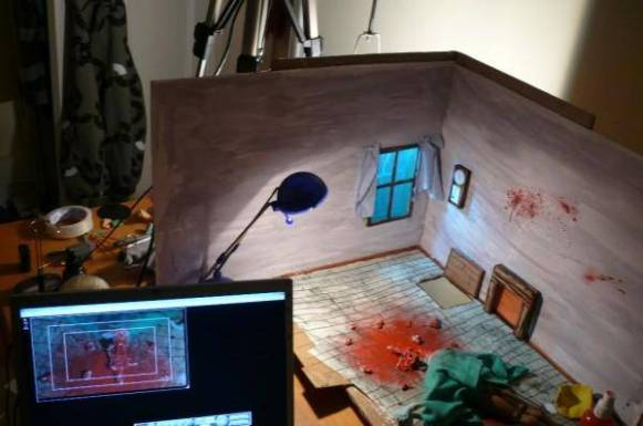 evil dead: done in 60 seconds - the set