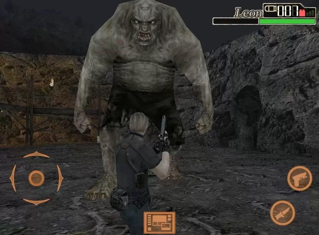 Resident evil 4 - iPad edition: monster