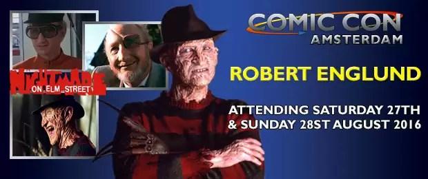Robert Englund - Amsterdam Comic Con
