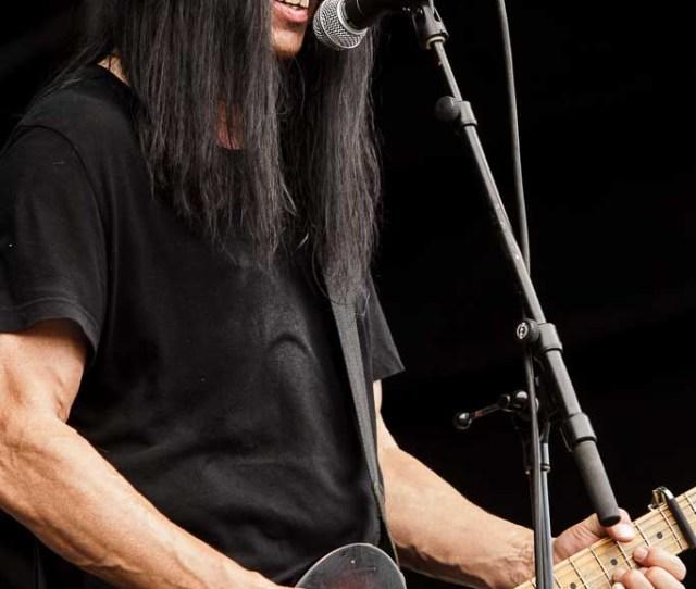 Dan Baird Guitarrista Y Cantante De Dan Baird And Homemade Sin Azkena Rock Festival Vitoria Gasteiz 2010