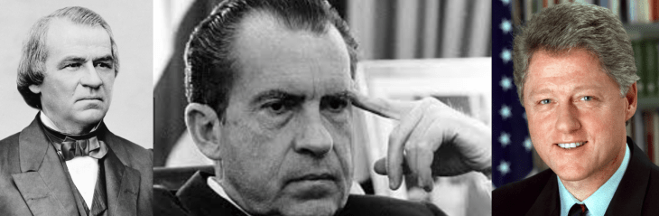 Johnson Nixon Clinton Montage