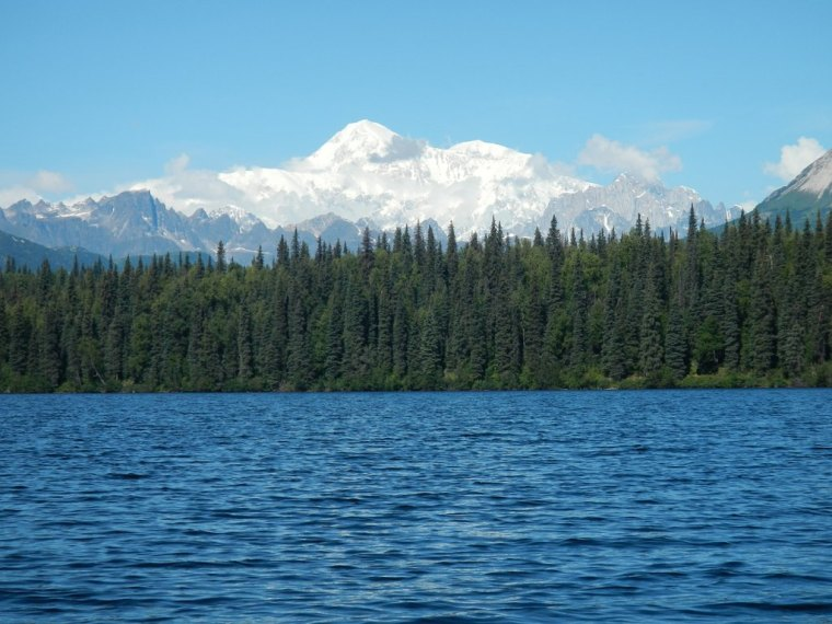 View of Denali from Byers Lake