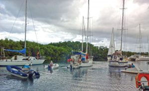 Cruisers Survive the Biggest Storm Ever Recorded in the South Pacific